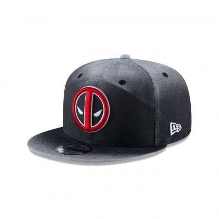 Deadpool Angry Symbol New Era 9Fifty Adjustable Hat