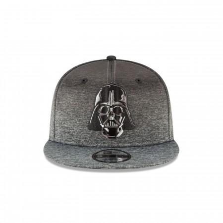 Star Wars Darth Vader Helmet Grey New Era 9Fifty Adjustable Hat