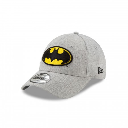 Batman Classic Logo Grey New Era 9Forty Adjustable Hat