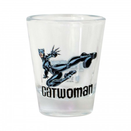 Catwoman Shot Glass