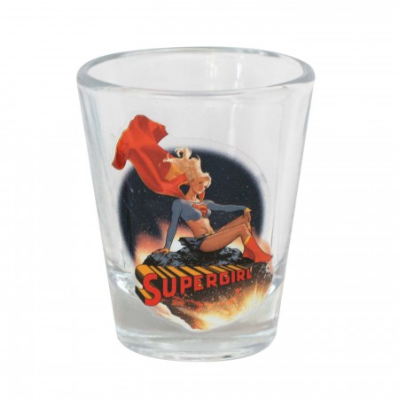 Supergirl Shot Glass