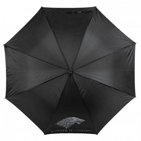 Game of Thrones Stark Molded Handle Umbrella