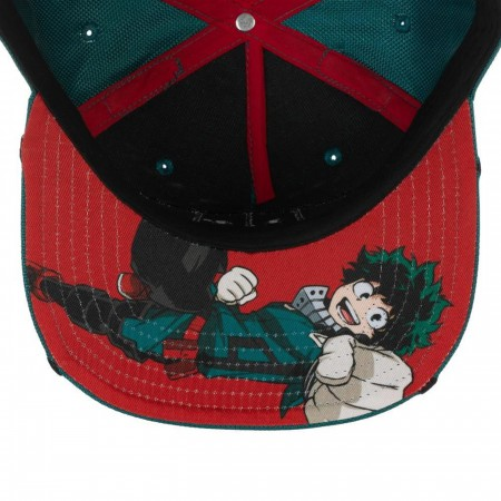 My Hero Academia Deku Inspired Suit up Snapback