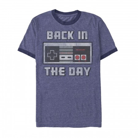 Nintendo Back In The Day Ringer Tee