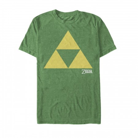 Zelda Triforce Green T-Shirt