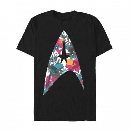 Star Trek Tropical Starfleet Insignia Men's T-Shirt