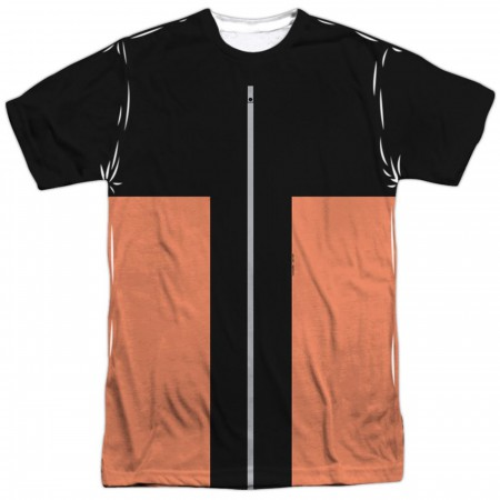 Naruto Shippuden Costume Front and Back Sublimated Men's T-Shirt
