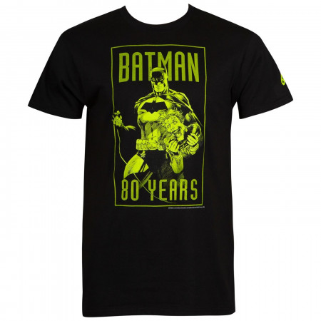 Batman 80th: Batman and Joker Men's T-Shirt