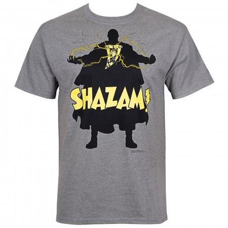 Shazam! Silhoutee Men's T-Shirt