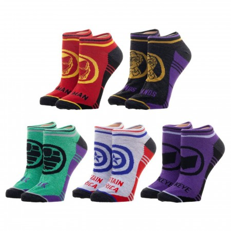 Avengers Endgame 5-Pack Socks