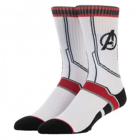 Avengers Endgame Quantum Armor Costume Socks