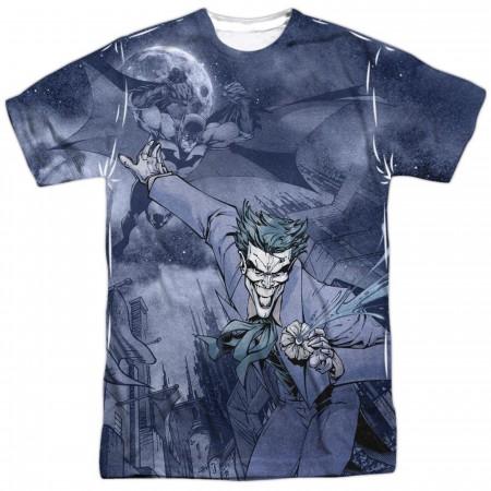 Catch the Joker Batman Front Sublimated Men's T-Shirt