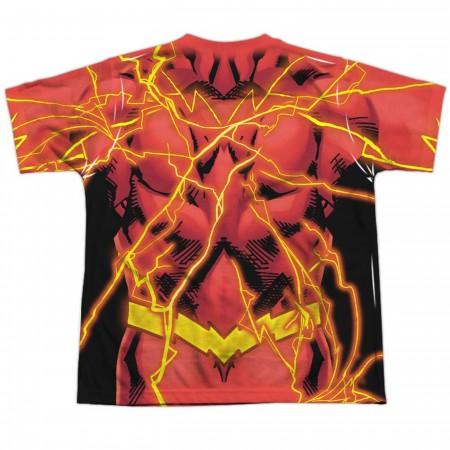 Flash Sublimated Costume Kids T-Shirt