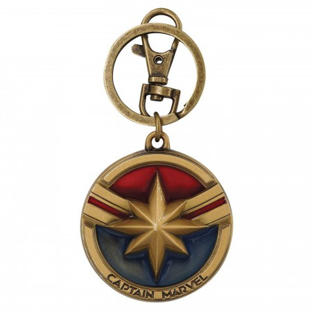 Captain Marvel Movie Keychain