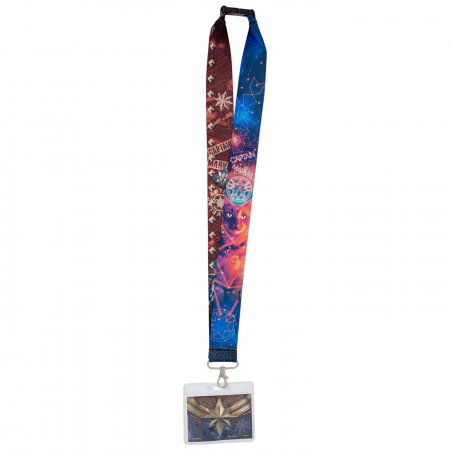 Captain Marvel Movie Lanyard