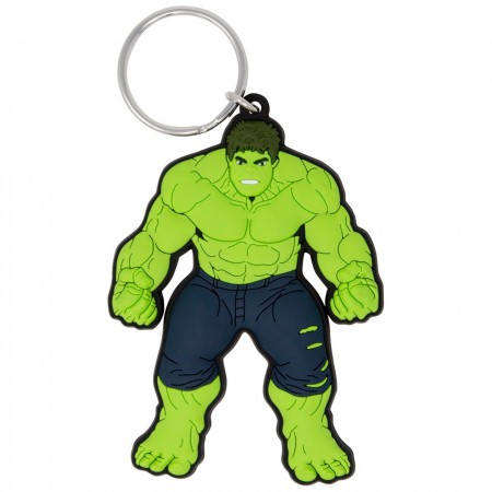 Incredible Hulk Soft Touch Keychain