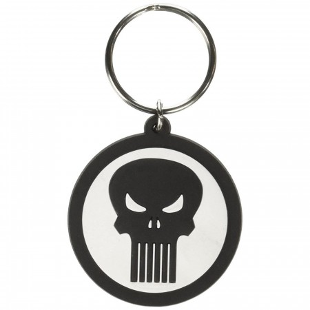 Punisher Soft Touch Keychain