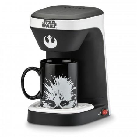 Star Wars Chewie 1-Cup Coffee Maker with Mug