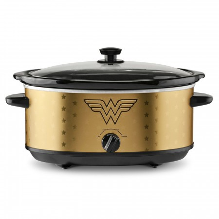 Wonder Woman 7 Quart Slow Cooker