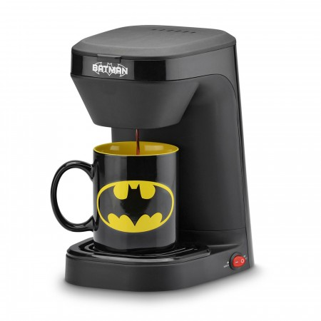 Batman 1-Cup Coffee Maker with Mug