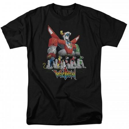 Voltron Lion Black Men's T-Shirt