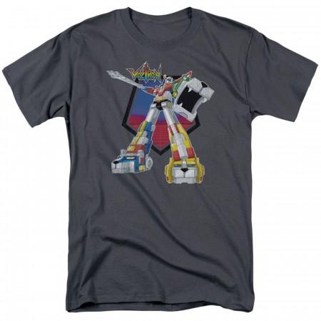 Voltron Blazing Sword Grey Men's T-Shirt