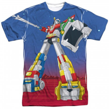 Voltron Form Voltron Sublimated Front and Back T-Shirt