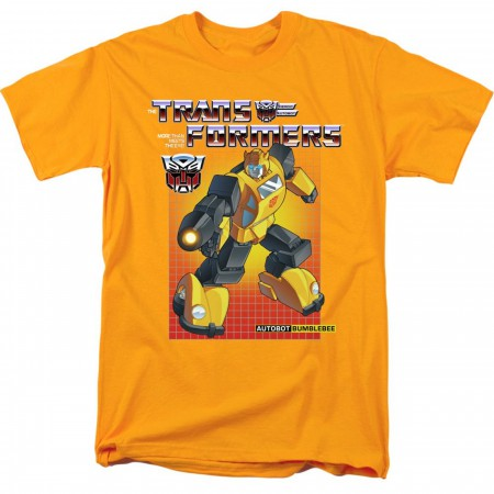Transformers Bumblebee Yellow Men's T-Shirt