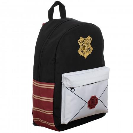 Harry Potter Envelope Sublimated Panel Print Backpack
