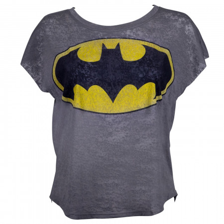 Batman Boxy Sleeveless Women's T-Shirt
