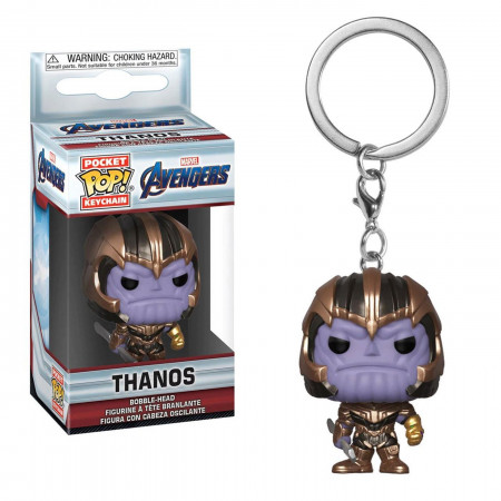 Funko POP Keychains: Marvel Avengers Endgame - Thanos