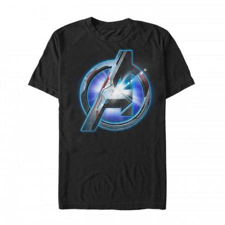 Avengers Endgame Team Suit Logo Men's T-Shirt