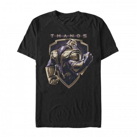 Avengers Endgame Thanos Shield Men's T-Shirt