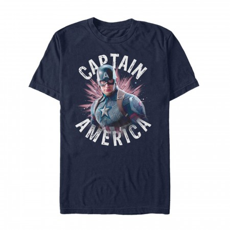 Avengers Endgame Captain America Men's T-Shirt