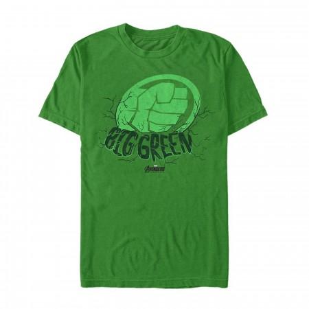 Avenger Endgame Hulk Big Green Men's T-Shirt
