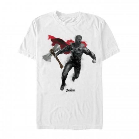 Avenger Endgame Thor Painted Men's T-Shirt