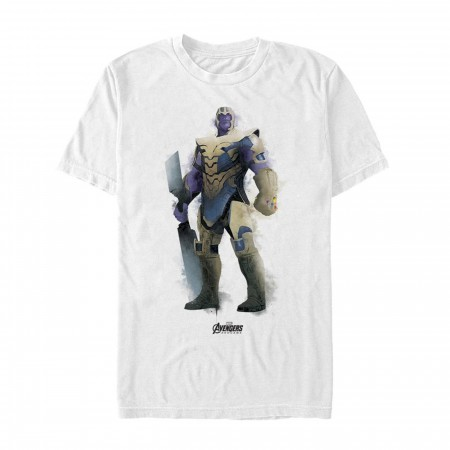 Avenger Endgame Thanos Painted Men's T-Shirt