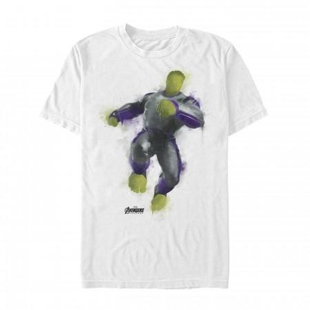 Avenger Endgame Hulk Painted Men's T-Shirt