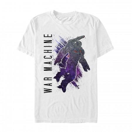Avenger Endgame War Machine Painted with Text Men's T-Shirt