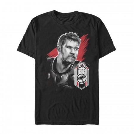 Avengers Endgame Thor Hero Badge Men's T-Shirt