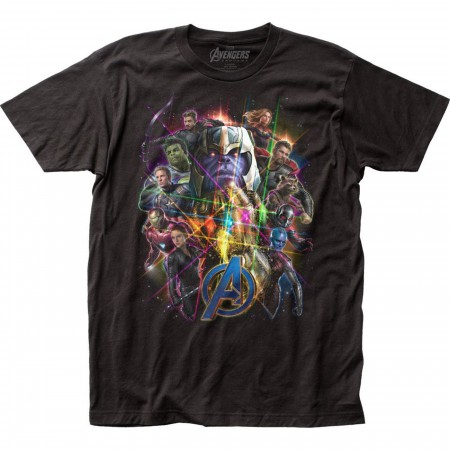 Avengers Endgame Movie Poster Men's T-Shirt