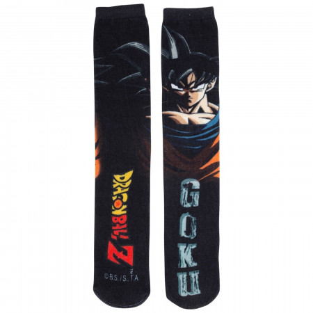 Dragon Ball Goku Men's Black Socks