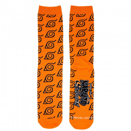 Naruto Leaves Symbol Socks