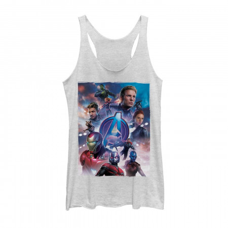 Avengers Endgame Hero Poster Women's Tank Top