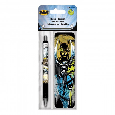 Batman Gel Pen & Bookmark Pack