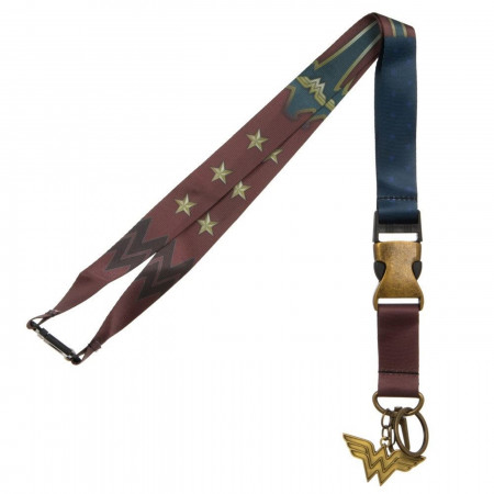 Wonder Woman Suit-Up Lanyard