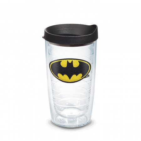 Batman Emblem Tumbler With Lid 16 oz Tervis®