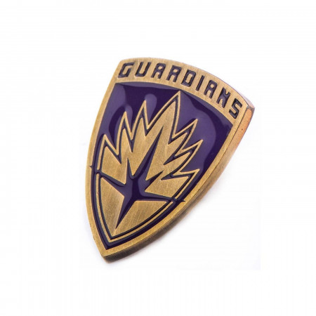 Marvel Base Metal Guardians of the Galaxy Shield Pin