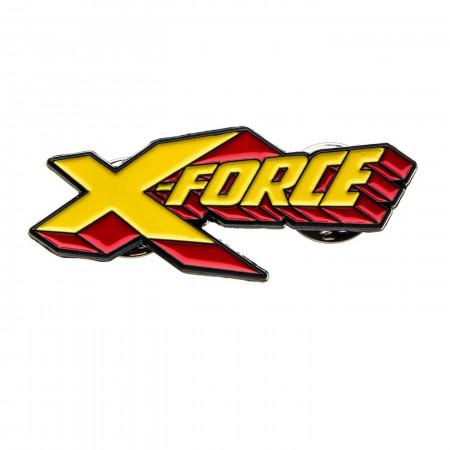 Marvel X-Force Logo Pins