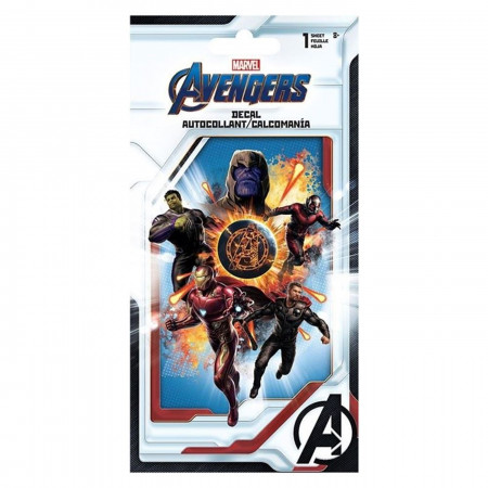 Avengers Endgame 4-Color Decal